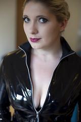 Chelsea (Sendall) Tags: sexy beautiful fetish model chelsea bondage bdsm classy dominatrix
