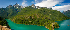 Diablo Lake, Washington (EdBob) Tags: diablo lake rossdam turquoise color glacial washington washingtonstate washingtonstatetourism summer summertime colorful forest highway20 northcascadeshighway northcascades mountains peaks sky colonialpeak pyramidpeak davispeak green travel tourism view viewpoint woods snow water nature outdoors edmundlowephotography edmundlowe usa america west allmyphotographsarecopyrightedandallrightsreservednoneofthesephotosmaybereproducedandorusedinanyformofpublicationprintortheinternetwithoutmywrittenpermission