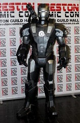 Comic Con 2016 (1st Englishgent) Tags: iron man warmachine war machine cosplay preston