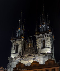 Chrm Matky Bo ped Tnem (ManuelHurtado) Tags: countries places architecture bohemia building cathedral church city cityscape czech europe famous gothic history landmark medieval night nocturnal old prague religion republic square tourism tower town travel urban praga repblicacheca cz