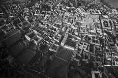 Cambridge from the air (RoryO'Bryen) Tags: cambridge air aerial trix kodaktrix leicamp roryobryen rangefinder copyrightroryobryen