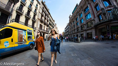Barcelona street photography (incrediblebarcelona) Tags: barcelona summer girls street photography city people portrait fashion espaa day light mediterraneo travel turism holidays flickr world europe