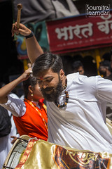 Drum Beats (soumitra911) Tags: ganpati festival ganesh miravnook procession pune india maharashtra bappa dhol tasha dhvaj tradition