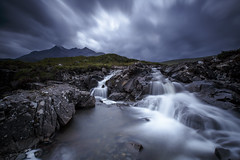 River Sligachan - Isle of Skye (Explored Sept 2016) (Turnpops) Tags: sligachan riversligachan isleofskye scotland cullins blackcullinmountains clouds stormy river rock rocky rocks water longexposure landscape canon6d canon1635mm leebigstopper