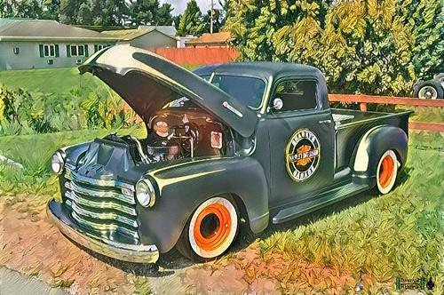 Depot Days Car Show.  Amboy, Illinois.    2016.     A1