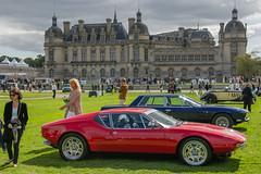 1971 DE TOMASO Pantera (Ghia) (el.guy08_11) Tags: 1971 detomaso ghia collection voiture chantilly picardie france fr
