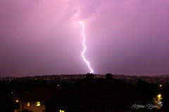 Stormy Weather (nathian brook) Tags: lightening storms landscape