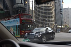 Flying Spur (Ethan Boelkins) Tags: bentley flyingspur flying spur continental luxury expensive sportscar supercar downtown chicago