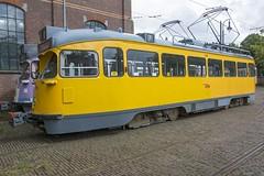 Den Haag HOVM tram 1304 en 1902 partytram erachter (Rob Dammers) Tags: htm museum den haag haags openbaar vervoer musem tram nl the hague