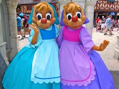 Suzy and Perla (meeko_) Tags: suzy perla mouse cinderella characters disneycharacters fantasyland magic kingdom magickingdom themepark walt disney world waltdisneyworld florida
