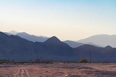 (Almost) nowhere (bitonio) Tags: saltonsea california sunset mountain