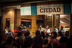 Acupuntura social y esttica contra la violencia en Medelln #LunesDeCiudad (Teatro Pablo Tobn) Tags: canto alegre barrio comparsa casa morada