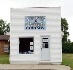 Library in Streeter, North Dakota (Blake Gumprecht) Tags: stutsmancounty northdakota streetercentenniallibrary streeter