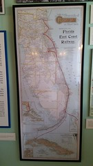 Florida Railway Map (Terry Hassan) Tags: usa florida miami palmbeach flaglermuseum whitehall mansion museum exhibit map history railway