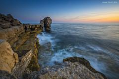 Pulpit Rock (Mark Frost :)) Tags: portland pulpit rock pulpitrock sea waves stone sun sunset weymouth portlandbill jurassic coast dorset long exposure