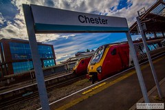 ChesterRailStation2016.09.22-10 (Robert Mann MA Photography) Tags: chesterrailstation chesterstation chester cheshire chestercitycentre trainstation station trainstations railstation railstations arrivatrainswales class175 class150 virgintrains class221 supervoyager class221supervoyager merseyrail class507 city cities citycentre architecture nightscape nightscapes 2016 autumn thursday 22ndseptember2016 trains train railway railways railwaystation