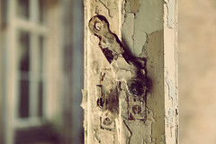 open (***toile filante***) Tags: window fenster details decay verfall old art abandoned atmosphere abstract atmosphre abstrakt beelitzheilsttten lostplace lost lonely