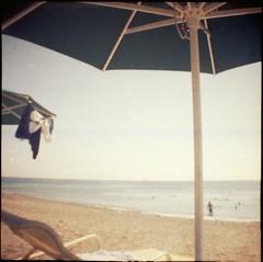 beach memories (Lana Mayakovskaya) Tags: film analog lomo lofi cyprus sea mediterranean dianamini 35mm summer