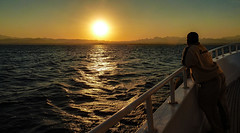 how boring, every evening the same:-)) (werner boehm *) Tags: wernerboehm sunset sonnenuntergang safaga egypt redsea