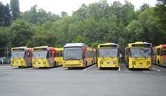 6Y DEPOT NIVELLES (brossel 8260) Tags: belgique bus tec brabant wallon