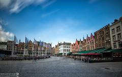 Grote Markt (lensjourner) Tags: ifttt 500px long exposure belgium bruges europe grote markt italy travel landscapes grotemarkt longexposure