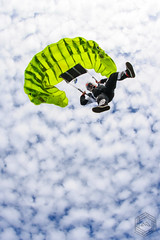 Time to open your parachute... (mathieufournel) Tags: skydiving sky flying jumping blueskies action sports