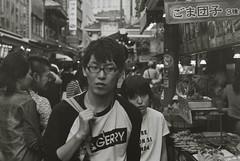 Nankin-machi (K/Y2nd) Tags: nikon fm2 nikkor ai 50mm f12 kodak tmax400 film scan canon eos 5d mark iii
