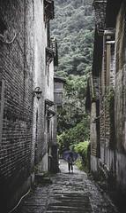 IMG_0913 (Ra1nb0wm0nst3r) Tags: green china asia alley rainy zhongguo xingping travel