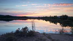 Ocaso en la laguna (pascual 53) Tags: ocasos
