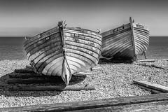 Rudi & Lady Irene (Rupert Brun) Tags: beach coast deal kent sea seaside summer sunshine boat wood wooden shingle explored