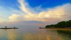 Sanur Bali Indonesia (fred.tross) Tags: seaside dawn sanur bali pergodas