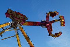DSC02243 (A Parton Photography) Tags: fairground rides spinning longexposure miltonkeynes fireworks bonfire november cold