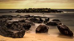 Long Exposure - Belmar, NJ (Jon Fleurant) Tags: ocean new longexposure beach water topv111 canon garden sand jon long exposure state wind sandy nj peaceful windy shore nd jersey avenue belmar 17th jf t3i jdf ndfilter 1555mm fleurant jonfleur jfleur jonfleurantphotography