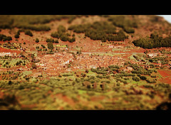 Through the Atlas mountains (Bjrn Giesenbauer) Tags: road village morocco faketiltshift