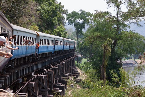 Chemin de fer de la mort sur la rivière Kwaï