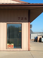 725, 2010 (J.G. Park) Tags: metal buildings industrial open lot columbia missouri temporary 725