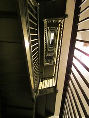 vertigo, part I (bronxbob) Tags: libraries staircases publiclibraries enochprattfreelibrary