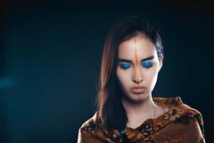 Tribal Instincts (DastanHardcoreguy) Tags: light macro film ex colors girl fashion studio asian model nikon asia flash central sigma style tribal sensual nikkor capture emotions kazakhstan softbox kazakh f28 afs almaty dg pagan 2470 afd stobist octabox d700