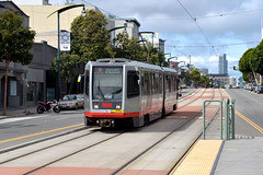 Muni 1507 [San Francisco tram] (Howard_Pulling) Tags: sf sanfrancisco california ca photo nikon picture tram april breda trams strassenbahn lrv 2013 hpulling howardpulling d5100