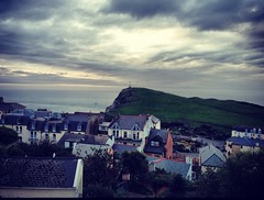 Ilfracombe evening (andyhainesphotography) Tags: above sea landscape evening town devon seaview ilfracombe uploaded:by=flickrmobile flickriosapp:filter=nofilter