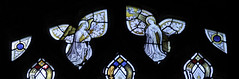 Newton, St Botolph, South aisle, East window, tracery (gordonplumb) Tags: stainedglass lincolnshire annunciation newtonstbotolph
