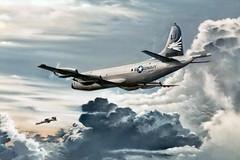 VP-23 P-3C Orion BuNo 161000, LJ-1 (skyhawkpc) Tags: airplane inflight aircraft aviation navy orion lockheed naval usnavy usn patrol p3c 161000 vp23seahawks