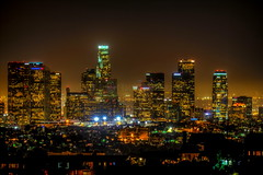 lady L.A. night! ( In 2 Making Images | L.A.) Tags: california city longexposure sky usa horizontal skyline architecture night outdoors photography cityscape citylife nopeople illuminated palmtree citylights griffithpark griffithobservatory hdr traveldestinations colorimage photomatix buildingexterior closedistance cityoflosangeles canoneosdigitalslr fineartamerica discoverla rebelt2i albertvalles