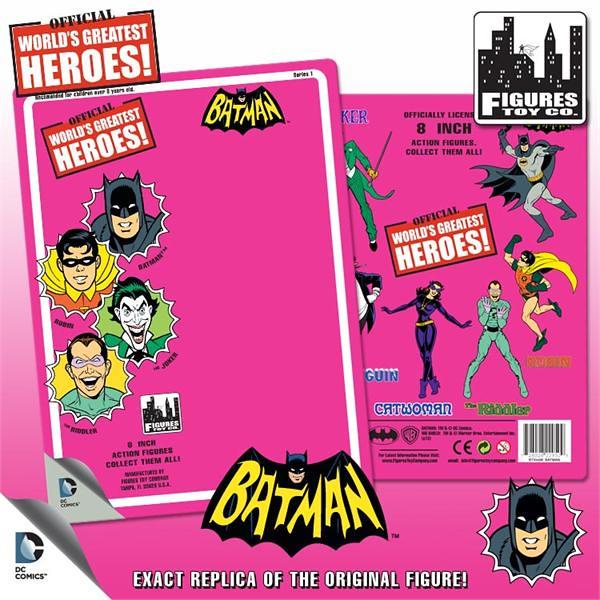 Figures Toy Company 超療愈 8 吋 蝙蝠俠漫畫版吊卡玩具
