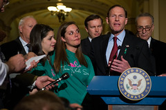 "DEMOCRATIC SENATORS TO JOIN GUN VIOLENCE VICTIMS' FAMILIES • <a style=""font-size:0.8em;"" href=""http://www.flickr.com/photos/32619231@N02/8661396114/"" target=""_blank"">View on Flickr</a>"