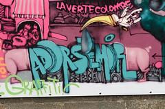 Nantes, Ador-Smor (Zerbi Hancok) Tags: street france wall graffiti book livre fnac nantes fresque ddicace ador smor nantesstreetartgraffiti