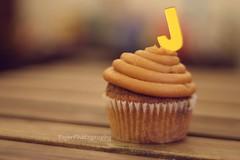 J (Fajer Alajmi) Tags: wood caramel cupcake letter