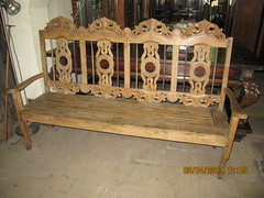Four-Seater Settee (Leo Cloma) Tags: four furniture antique philippines antiques settee seater cloma