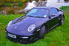 Porsche 911 997 Turbo (Sharon Dow Photography) Tags: uk england cars car sussex countryside spring westsussex britain south 911 turbo porsche southeast 997 maplehurst 2013 porsche911997turbo d3100 sharondowphotography sharondow