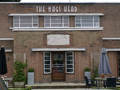 Deco Nag's Head 23 (FrMark) Tags: uk windows england art architecture bar corner restaurant town thirties pub inn britain style moderne gb suburb curved deco hertfordshire streamline herts crittall bishopsstortford hockerill